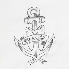 anchor tattoo that I am getting... minus it will say DAD and have his dates