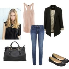 Cute Back To School Outfits 01 #style #outfit #fashion  with <3 from JDzigner www.jdzigner.com