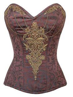 steampunk corset | Corsets #steampunk #victoriana #costume | Wonderful Things!