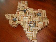 Wine Cork Texas Decor