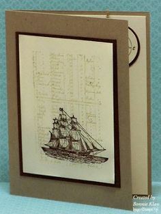 Stamping with Klass: Out to Sea Again - Open Sea - back in the annual catalog!
