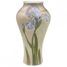 Albert Valentien (1862-1925) for Rookwood Pottery, Iris