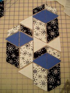 Modern Quilt Relish: Picnic Block Explored: Condiments