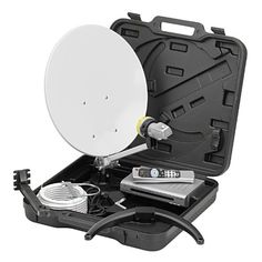 Ross 22300CA-R Portable Satellite Kit with SD Free to Air Satellite TV Receiver - http://www.shopeasyplus.com/ross-22300ca-r-portable-satellite-kit-with-sd-free-to-air-satellite-tv-receiver/