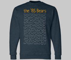 85 Chicago Bears Sweatshirt @Kathleen Maple