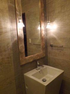 Lavadero en baño de visita