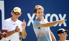 Two legends at US Open 2013