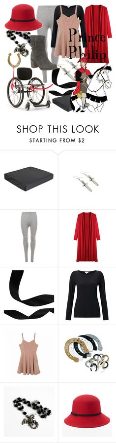 """Prince Philip (A Disney-Inspired Outfit)"" by one-little-spark ❤ liked on Polyvore featuring WearAll, Jigsaw, Apt. 9, disney and disneybound"