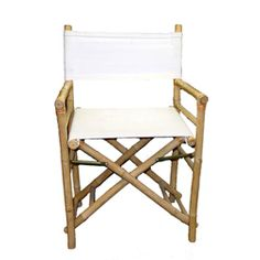 Set of 2 Bamboo Director's Chairs (Vietnam) | Overstock.com Shopping - The Best Deals on Patio Chairs