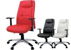 Nordic Desk ハイバックデスクチェアレッド オフィスチェアー椅子PCチェア 北欧 インテリア 雑貨 家具 Modern ¥9300yen 〆07月09日