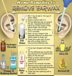 #Home #remedies for #ear #wax #removal.