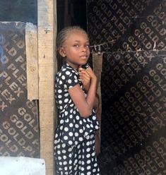 Natural Brown Hair, African Models, Child Models, Ghana, Children, Kids, Fashion Models, High Neck Dress, Popular