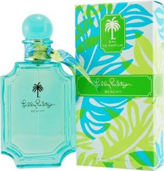 Lilly Pulitzer Beachy By Lilly Pulitzer For Women Eau De Parfum Spray 3.4 Oz when did they ever have perfume?!