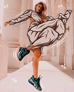 FASHION ILLUSTRATION #ILLUSTRATION #NIKE #FASHION