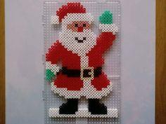 Santa Claus - Christmas perler beads by by vlokje