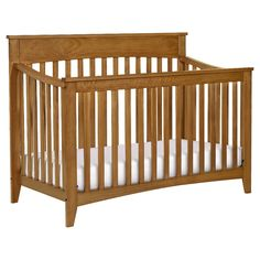 The simple elegance and sturdy construction of the Grove Convertible Crib by DaVinci make it a stylish nursery staple to be enjoyed for years to come. Toddler Furniture, Baby Furniture, Furniture Decor, Furniture Sets, Healthy Environment, Convertible Crib, 4 In 1, Crib Mattress, Baby Safety