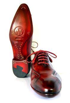 Oscar William Luxury English Handcrafted Elegant Dress Footwear Italian Calfskin Leather