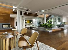 Talk about your urban oasis. This incredible pad is in the heart of NYC.