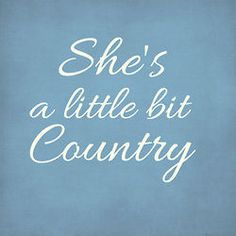 She's a little bit Country ~ Inspiration Lane: Archive