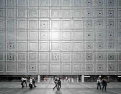 Jean Nouvel, Architecture Studio, hiepler, brunier, · Institut du Monde Arabe