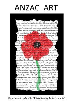 Make some great ANZAC art with this set of paper. Create an Anzac image on top of the National Anthem or the Ode of Remembrance. Remembrance Day Activities, Remembrance Day Art, Anzac Poppy, Top Art Schools, Ww1 Art, Poppy Craft, Anzac Day, Autumn Art, Art Classroom
