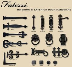 Dress up your real or faux wood garage doors with decorative hardware. You'll be… Dress up your real or faux wood garage doors with decorative hardware. You'll be…,Curb Appeal Dress up your real or. Garage Door Handles, Garage Door Decorative Hardware, Garage Door Track, Faux Wood Garage Door, Garage Door Parts, Garage Door Hardware, Modern Garage Doors, Best Garage Doors, Rustic Hardware
