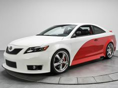 680HP Nascar Edition Toyota Camry Heads to Auction