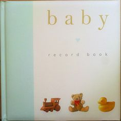Baby Record Book.