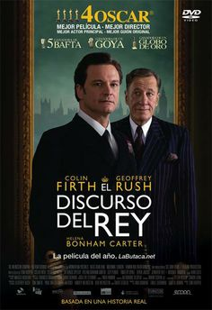 El discurso del Rey (2010) Reino Unido. Dir.: Tom Hooper. Drama. Histórico. Anos 30. Baseado en feito reais. Biografía - DVD CINE 1969