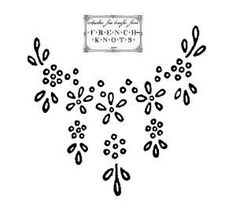 Vintage Embroidery Designs daisy embroidery transfer - free vintage flowers, roses daisies embroidery patterns - many different designs using the lazy daisy stitch including hearts with french knots French Knot Embroidery, Learn Embroidery, Silk Ribbon Embroidery, Crewel Embroidery, Vintage Embroidery, Cross Stitch Embroidery, Flower Embroidery, Embroidery Thread, Japanese Embroidery