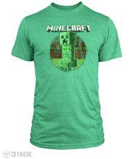 Minecraft Retro Creeper Premium Tee by Jinx