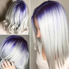 Check out @samihairmagic and give one of our fave artists a FOLLOW  @samihairmagic is absolutely amazing  #hotonbeauty . . . . #shoutout #platinumhair #platinumwhitehair #whitehair #purplehair #purplehaircolor #shadowroot #purpleshadowroot #bob #bobhair #bobhairstyle #bobhaircut #purplebob #platinumblonde