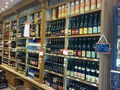 This is probably a paradise for men (Belgian selection of beers)