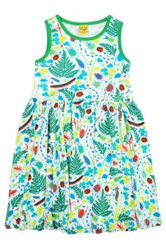 Duns sleeveless dress - Bugs in the Garden Retro Baby Clothes - Baby Boy clothes - Danish Baby Clothes - Smafolk - Toddler clothing - Baby Clothing - Baby clothes Online Toddler Outfits, Baby Boy Outfits, Baby Clothes Online, Retro Baby, Sweden, Bugs, Summer Dresses, How To Wear, Organic