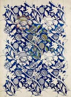 William Morris was an English artist, writer, textile designer and socialist associated with the Pre-Raphaelite Brotherhood and English… William Morris Wallpaper, William Morris Art, Morris Wallpapers, Textile Patterns, Textile Prints, Print Patterns, Tattoo Patterns, Pattern Vegetal, Illustration Art Nouveau