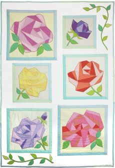 Michael Miller Fabrics A Rose By Any Other Name - FREE QUILT PATTERNS - GET INSPIRED | quilt