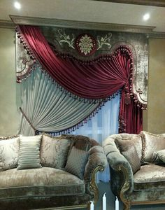 3 Curtains And Draperies, Elegant Curtains, Modern Curtains, Colorful Curtains, Window Curtains, Drapery, Valance, Curtain Styles, Curtain Designs
