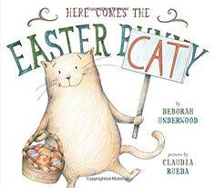 Here Comes the Easter Cat by Deborah Underwood http://www.amazon.com/dp/0803739397/ref=cm_sw_r_pi_dp_41Javb0JBP7T5