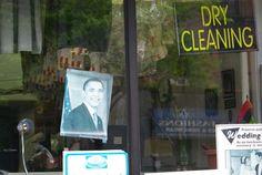 Obama cleaned dry, Harlem, NYC, 2012, julie dudragne.
