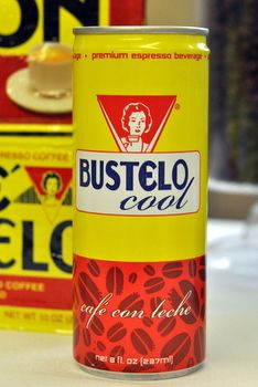 Wow, did not know that Cafe Bustelo is the best selling espresso brand in the US! Also that the company is moving into the refrigerated beverage market with the Bustelo Cool. It is a cuban-style cafe con leche made with intensely flavored coffee (Cafe Bustelo espresso) that is sweetened with sugar and given a splash of milk. This will be exciting to try!!!