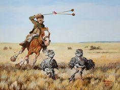 florencio molina campos montefusco - Buscar con Google Cowboy Art, Decoupage Vintage, Rio Grande Do Sul, Western Art, Cowboys, Westerns, Camel, Horses, Cartoon