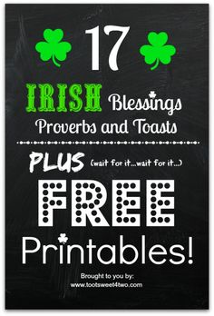 17 Irish Blessings,