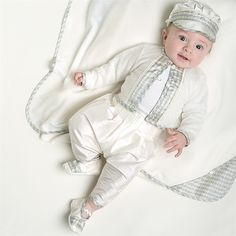 Baptism Clothes For Baby Boy Baby Boy Baptism Outfits Ring Bearer Suit Boy White Linen Clothes