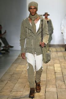 Male Fashion Trends: Greg Lauren Spring/Summer 2016 - New York Fashion Week: Men's