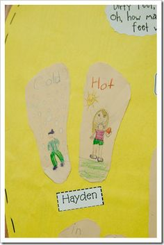 antonym activity...to go with The Foot Book