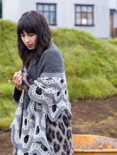 Esjan7 by westknits, Stephen West Book 5, $6, knitted shawl pattern