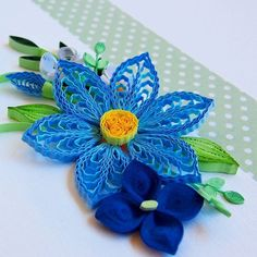 Another one   #quilling #paper #paperflowers #quilled #flowery