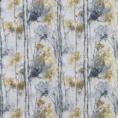 Silver Birch in Shadow 958 by Prestigious Textiles | Curtain Fabric Store Living Room Blinds, House Blinds, Bedroom Blinds, Vertical Window Blinds, Prestigious Textiles, Diy Blinds, Blinds Design, Made To Measure Curtains, Roman Blinds