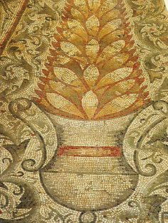 https://flic.kr/p/cT3gj | a section of the Months and Seasons pavement mosaic from Carthage, (second half of 4th century CE) | Photographed at The British Museum in London, United Kingdom.