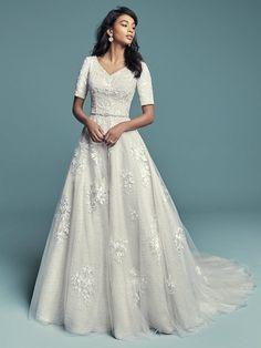 Courtesy of Maggie Sottero Wedding Dresses; www.maggiesottero.com